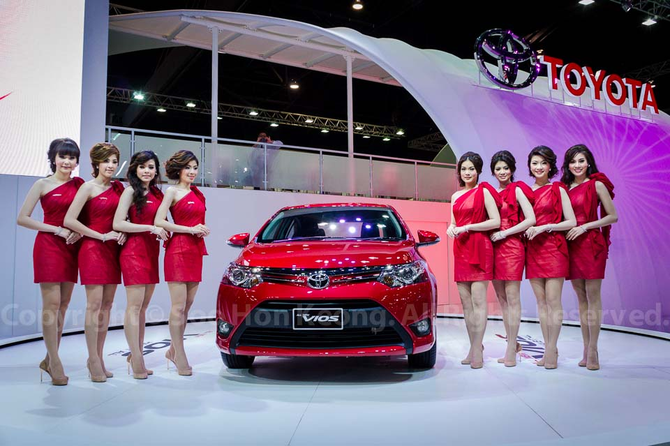Toyota Vios 2013 @ Bangkok International Motor Show 2013