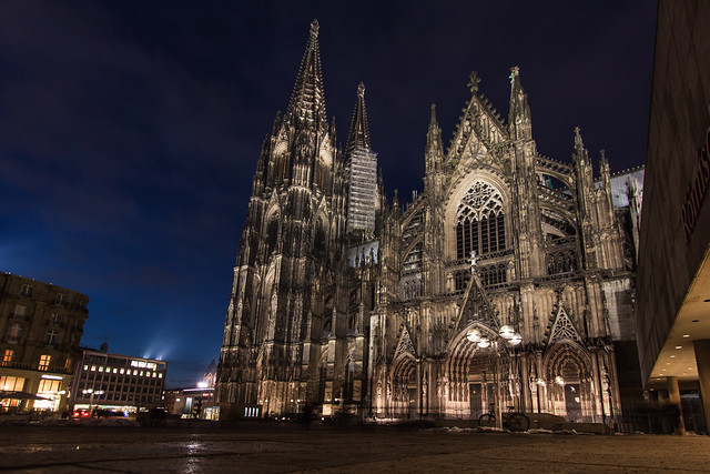 Kölner Dom at Night