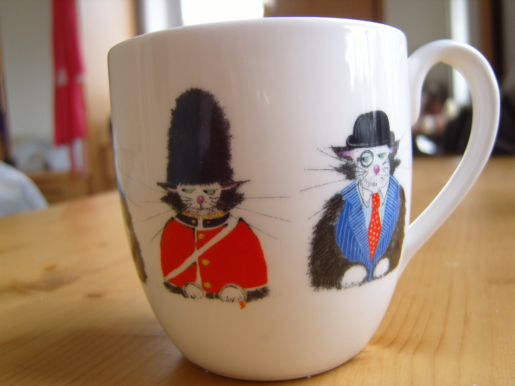 National Trust Cat Mug 3
