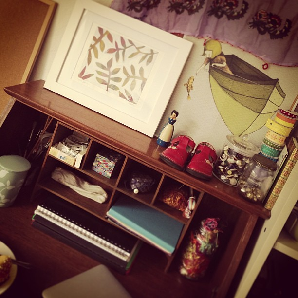 My little creative nook #mycreativespace