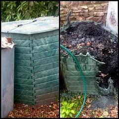 #garden #compost #fire #mishap @francesbell