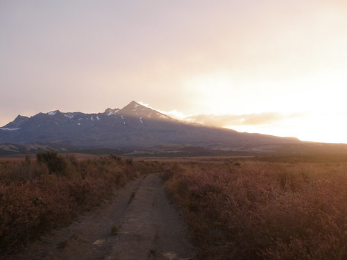 Last light on Ruapehu