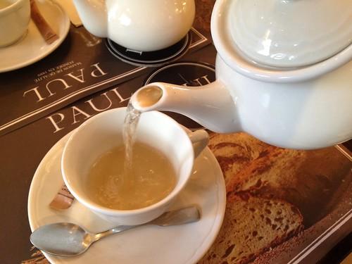 經典法式藍伯爵茶