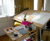 Where I draw and paint