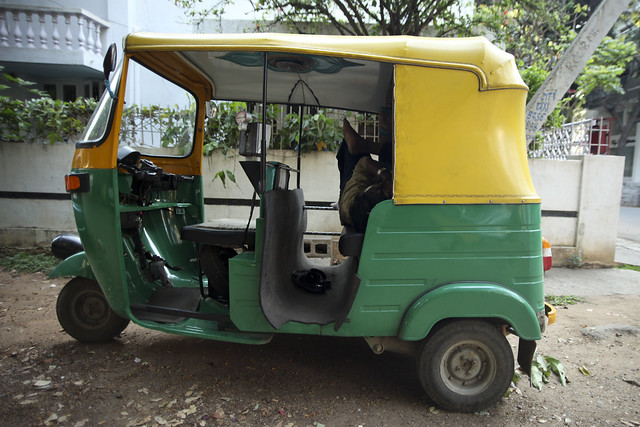 Sleeping Rickshaw