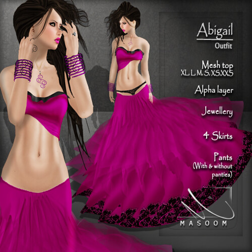[[ Masoom ]] Abigail outfitt- main