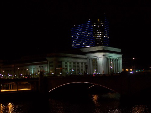 30th Street Station, Philadelphia, with the Cira Centre in the background