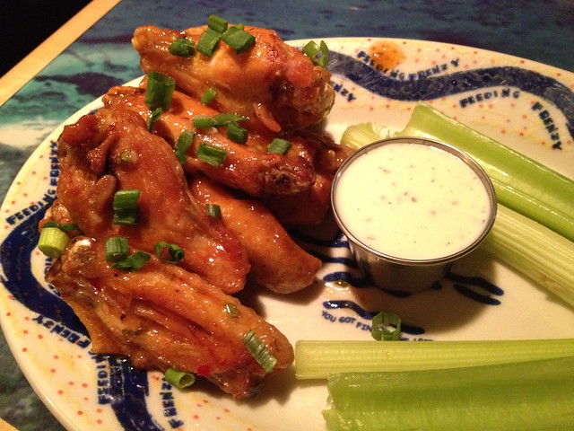 Waimea chicken wings - Margaritaville
