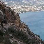 Cliff path, Penyal d' Ifach