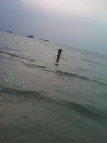swim at Beach by newhotelus