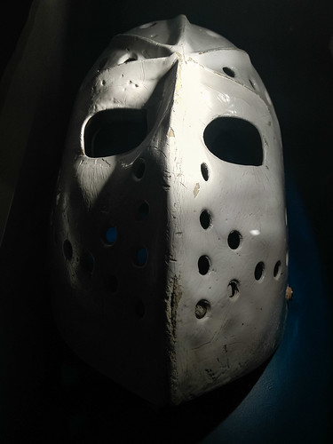 Hockey Hall of Fame goalie mask - #110/365 by PJMixer