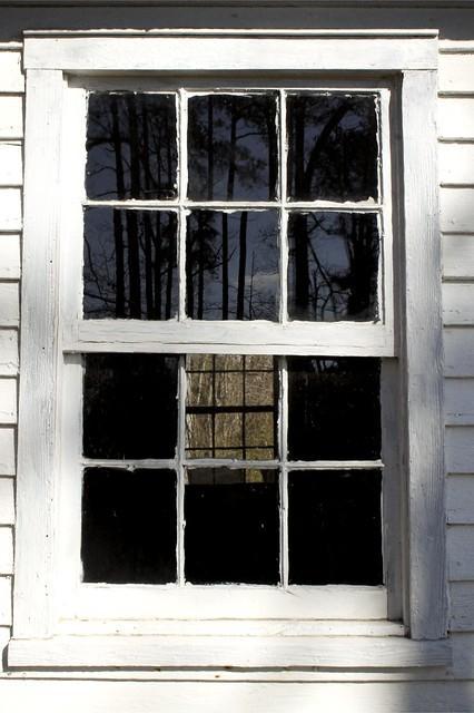 Through the Schoolhouse window