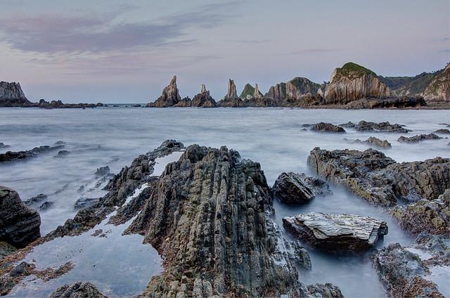 Playa Gueirúa, Asturias