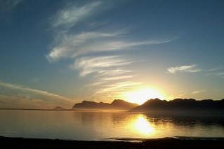 sunset on the Bot River Estuary