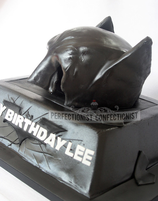 Batman Dark Knight Rises Birthday Cake