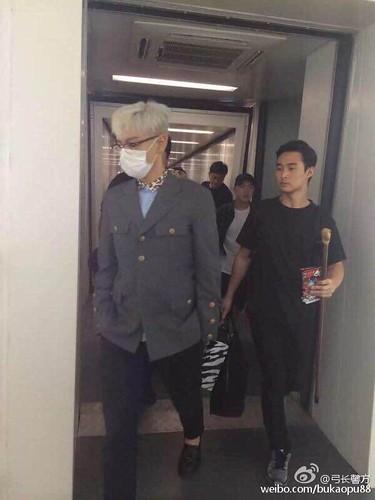 BIGBANG lArrival Shenzhen from Seoul 2015-08-07 033
