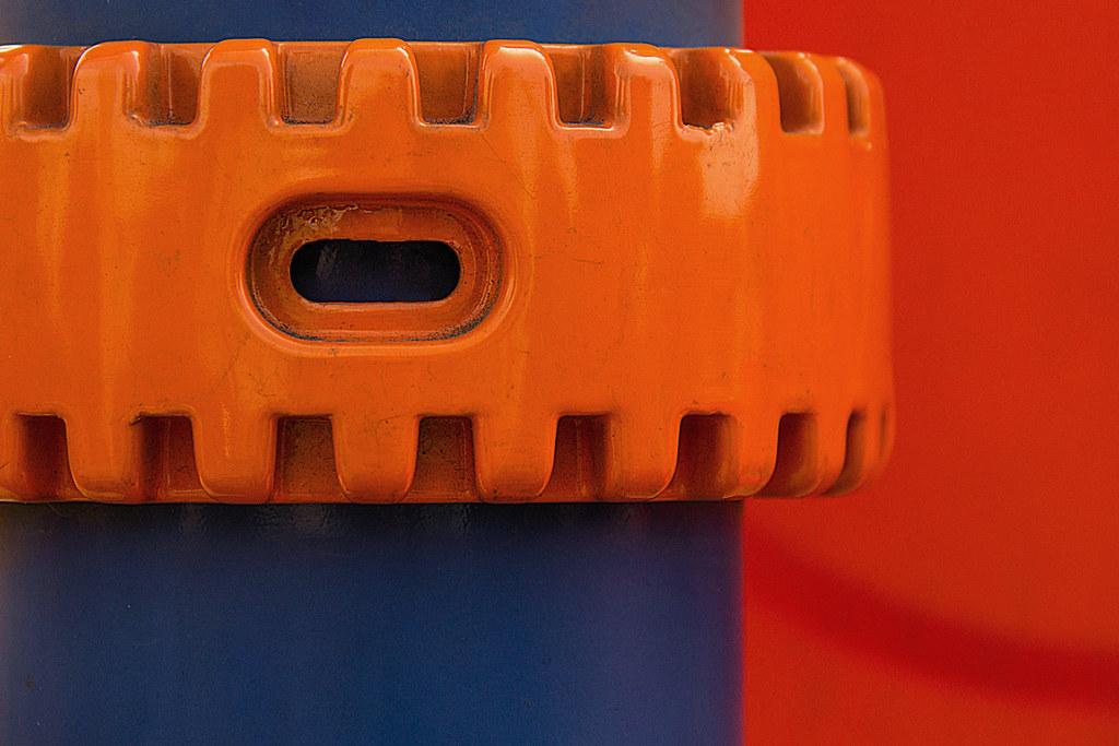 orange-blue composition