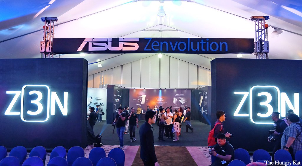 Occupying the entire Harbor Garden Tent the special ASUS Zenvolution event was an exclusive tech event for bloggers media and selected loyal fans of the ... & The Hungry Kat