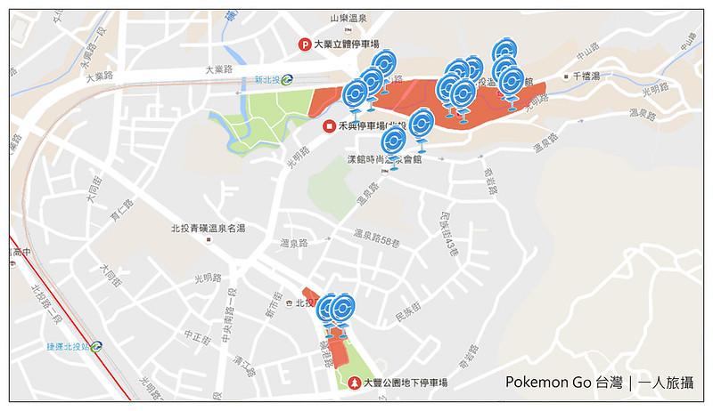 Pokemon Go 台北抓怪點 21
