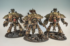 Death Guard themed Renagade Imperial Knights