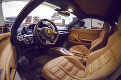 2013 Ferrari 458 Italia Interior Shot