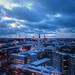 tallinn blue hour by mariusz kluzniak