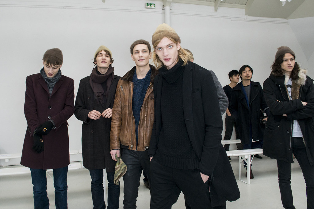 Paul Boche3469_2_FW13 Paris Tillmann Lauterbach_Charlie France,Matvey Lykov,Peter Bruder,Miles McMillan(fashionising.com)