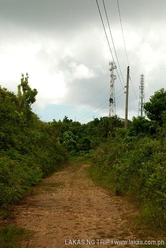Nearing the top of Romblon Island, Romblon Province, Philippines