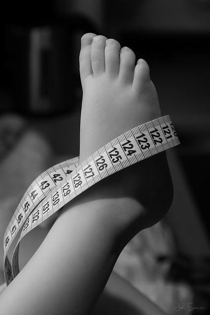 Lauras foot