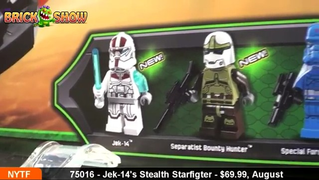 2013 summer Star Wars Lego sets