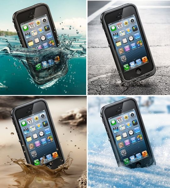 Чехол iPhone 5 LifeProof Frē case