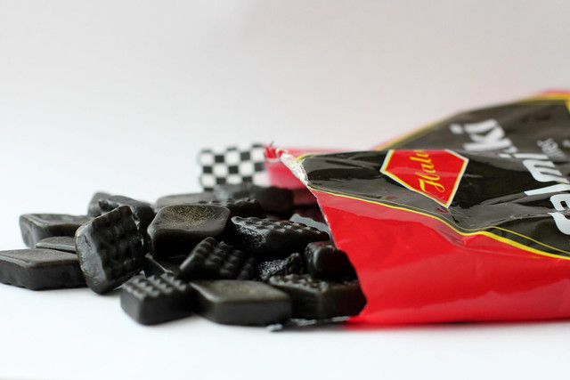 salted licorice