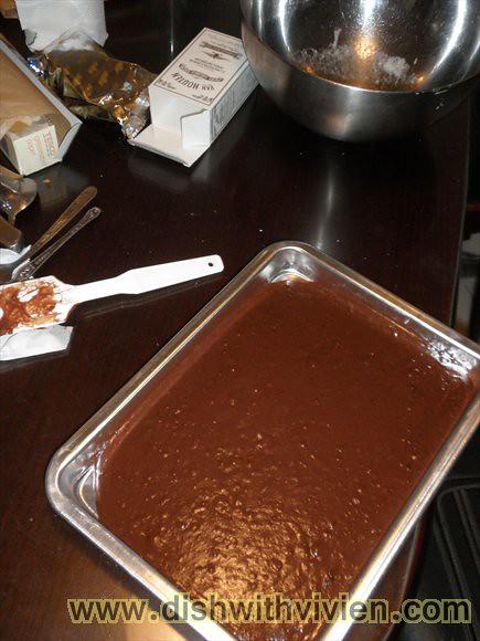 Cocoa Sheet Cake1