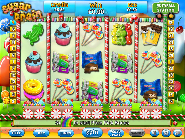 Sugar Train Slot Machine - Play for Free & Win for Real