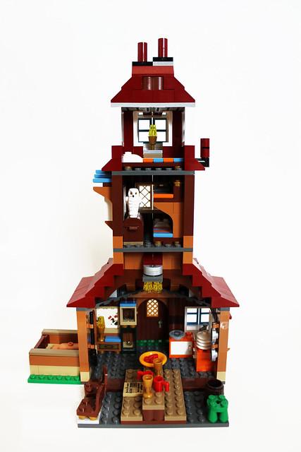 lego harry potter the burrow (4840) | flickr - photo sharing!
