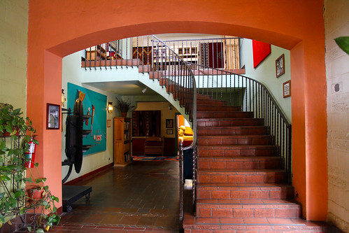 La Posada - Stairs to West Wing