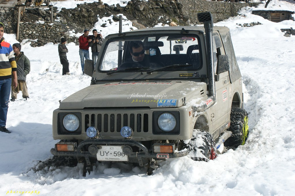 Muzaffarabad Jeep Club Neelum Snow Cross - 8472103102 8895de5a4b b