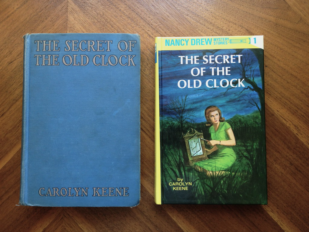 Nancy Drew through the Ages