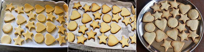 How to make shortbread cookies - Step3