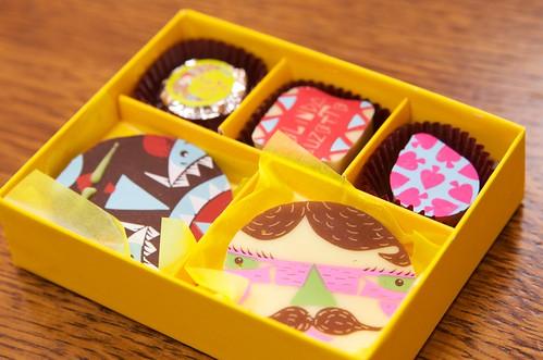 ヤムヤムアート! チョコレート スパイラリシャス