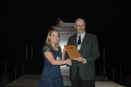 Kaitlin O'Brien, Undergraduate Public Speaking Award