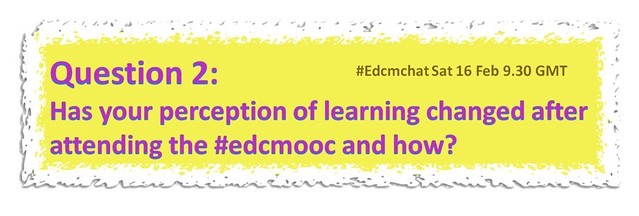 #edcmchat Question 2