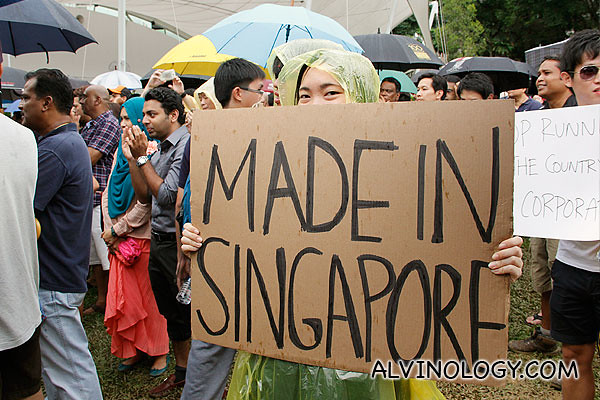Made in Singapore girl