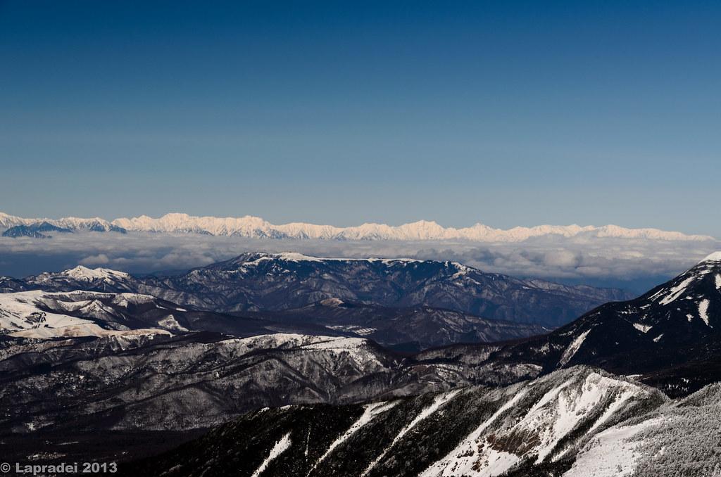 20130203 後立山連峰