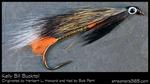 #14-2013 The Kelly Bill Bucktail tied by Bob Petti