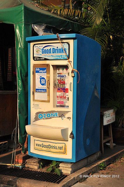Water Vending Machine, Chiang Mai, Thailand