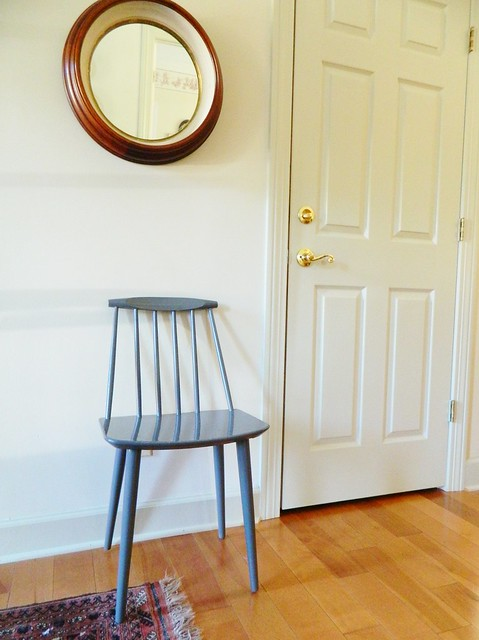 danish modern side chair found in tennessee