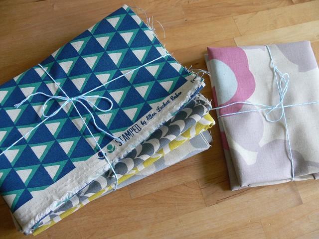 Pretty fabrics!