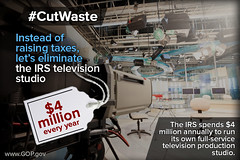 Cut Waste: IRS TV Studio
