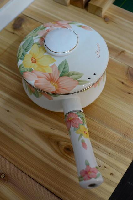 來自婆婆的琺瑯鍋